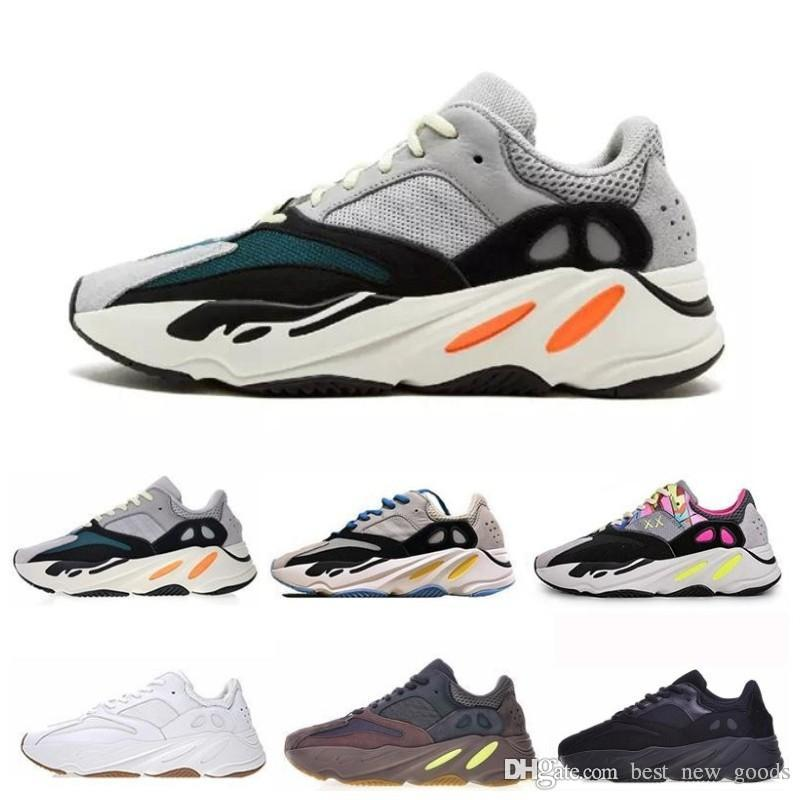 2019 700 Runner 2019 New Kanye West Mauve Wave Mens Women Athletic Best Quality 700s Sports Running Sneakers Designer Shoes With Box From