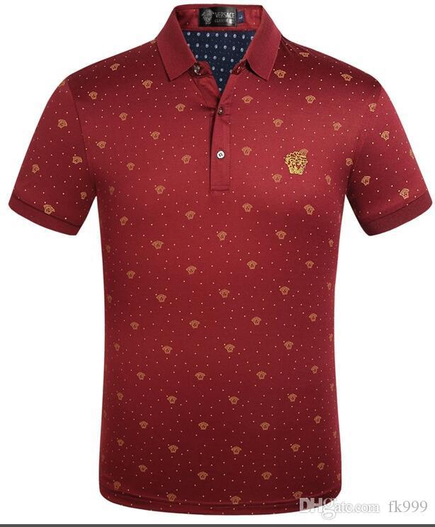 2020 place des hommes t-shirt des femmes de tendance hommes de haute qualité mode loisirs col Sports Street T-shirt