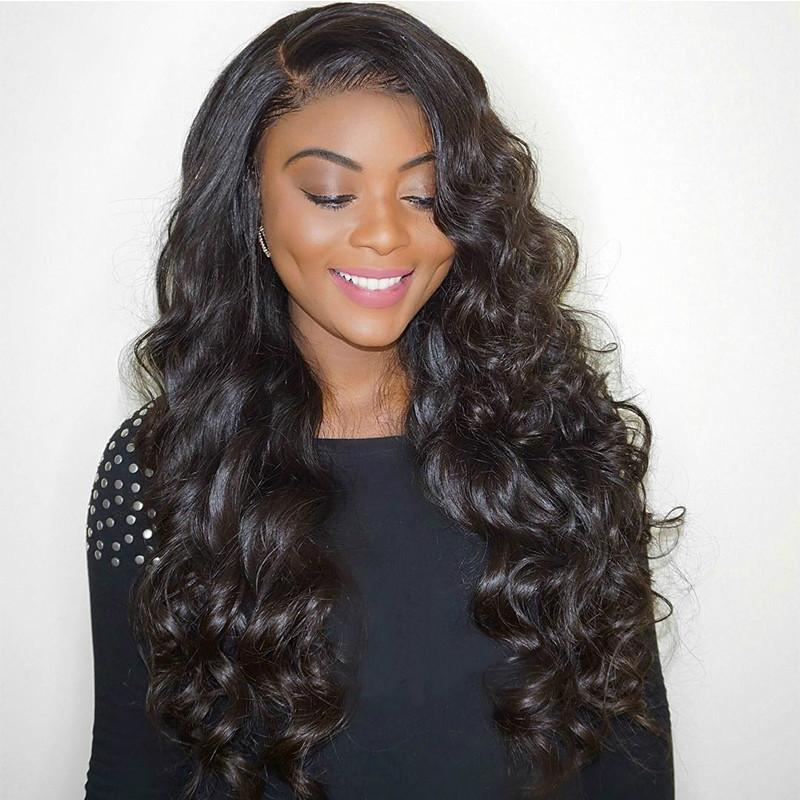 Glueless Pre Plucked Full Lace Human Hair