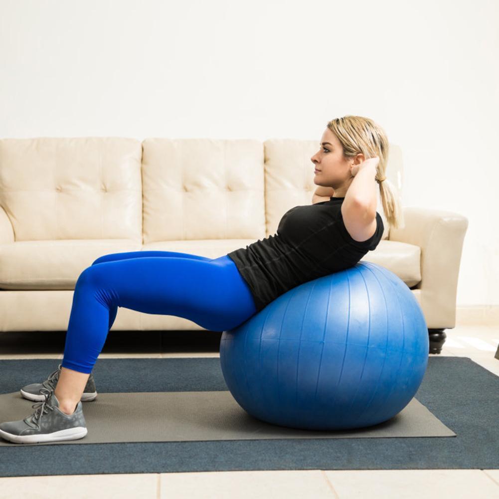 65cm 75cm Sport Yoga Balls Bola Pilates Fitness Gym Balance Fitball Esercizio allenamento di Pilates sfera di massaggio OTqxE