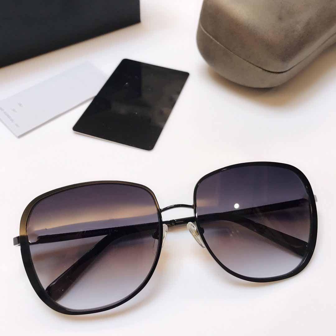 Round Metal Unisex Sun Eyewear Round For Lens Glass 5593 Womens Mirror Sunglasses Flash Mens Glasse Sunglasses Designer Swfpk