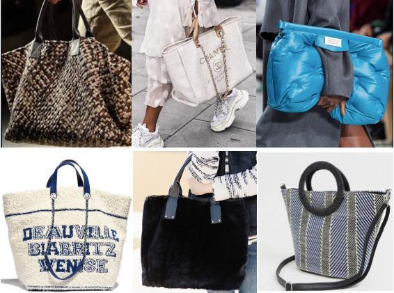 尼龙和布面材质oversize bag
