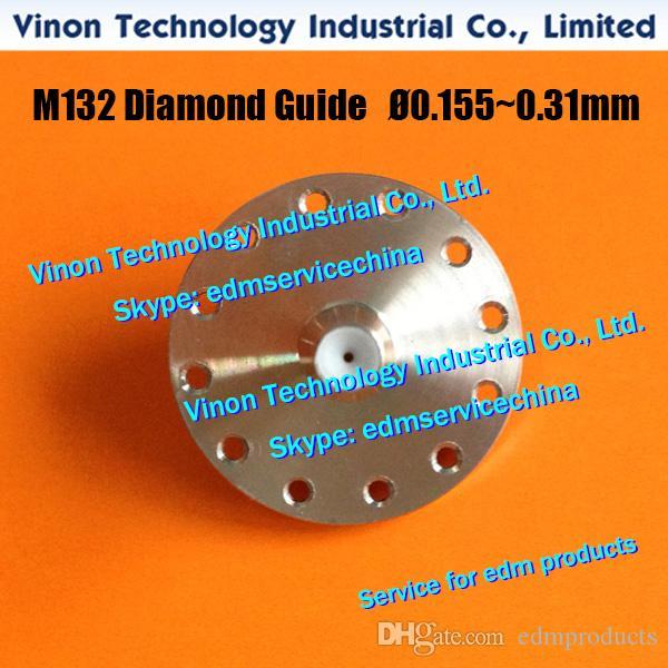 M132 Wire Guide Ø0.21mm X056C833G51 Upper for Mitsubishi SX.SB.SZ.CX.FX.FA machine X056-C833-G51, DA766A, DA76600, DU31000 edm die guide (U)