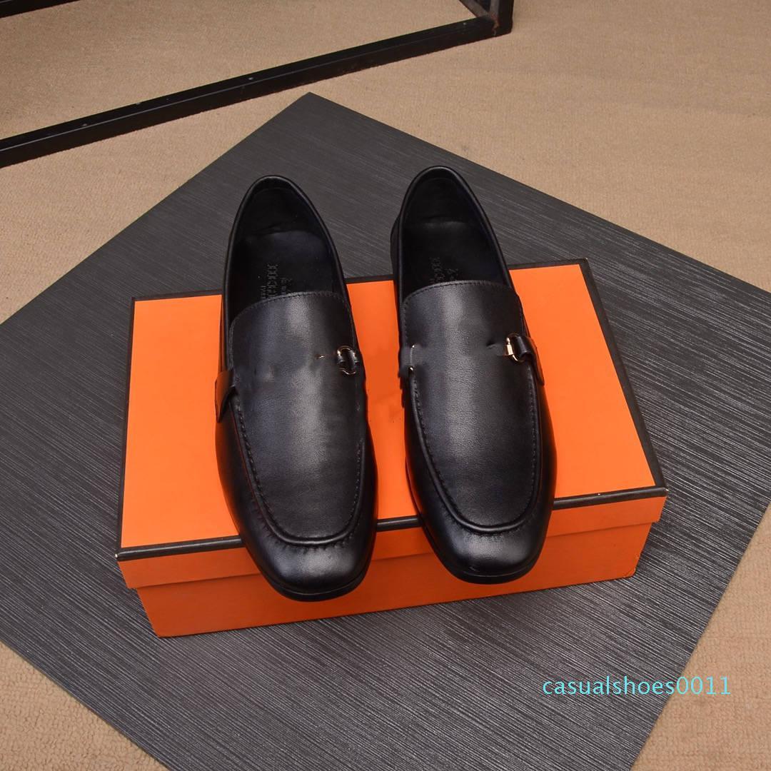 H brand men formal wear luxury men shoes dress shoes men casual wedding party shoes us6.5-10 cc11
