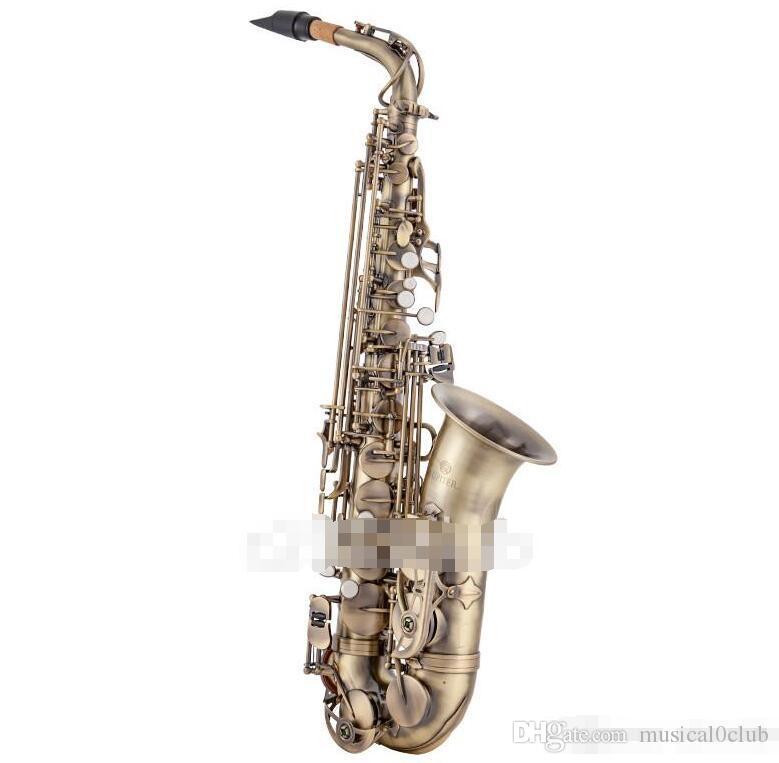 JUPITER JAS-767 Modèle Saxophone Alto Laiton Antique Copper haute qualité Sax Instruments de musique avec étui Embouchure Livraison gratuite
