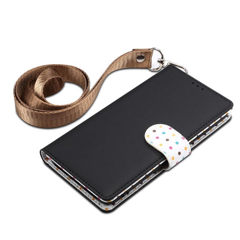 Onda de luxo ponto de telefone iphone xr tampa do telefone designer titular do telefone para xiao mi 9 one plus 7pro telefone portátil cordão carteira saco