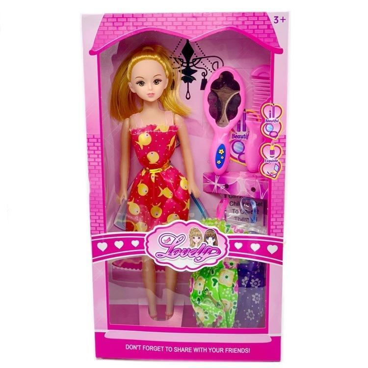 Кукла Барби Кукла Обмен игрушками Одежда Маленькая принцесса Дом Произвольно выпускается