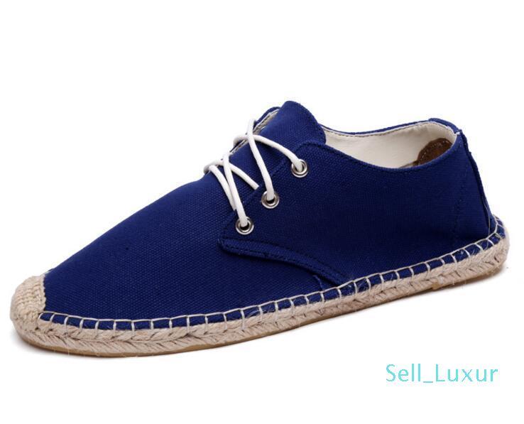 2019 Nouveau type chaussures en toile Livraison gratuite femmes et chaussures hommes mode mocassins chaussures plates femmes espadrille001 chaussures de sport taille 36-45