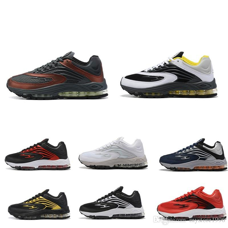 2020 حار بالجملة جديد وصول منغم Maxes 1999 حذاء على الموضة للدراجات للرجال تنفس الهواء مصمم الرياضية حذاء رياضة أزرق أسود أصفر الأحمر