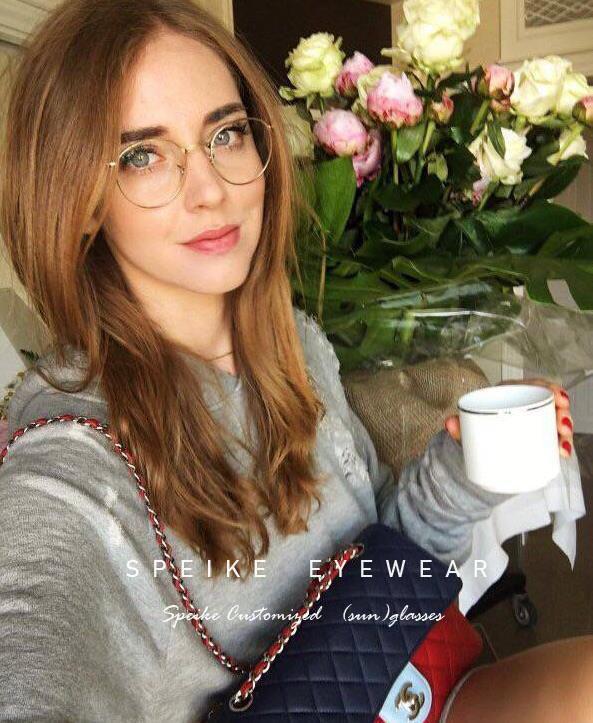 All'ingrosso rotondo occhiali R 3447V cornici per uomini e donne possono essere gli occhiali di miopia occhiali da lettura