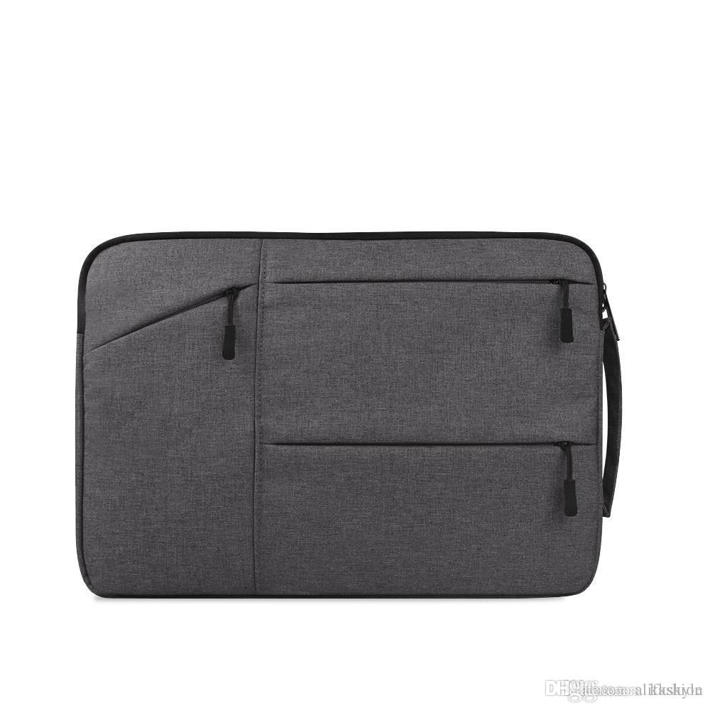 Бизнес ноутбук Pad рукав чехол 11 12 13 14 15 дюймов, водонепроницаемый защитный Notetook сумка для Pro 13.3 14.1 15.6 Retina/Chromebook портфели