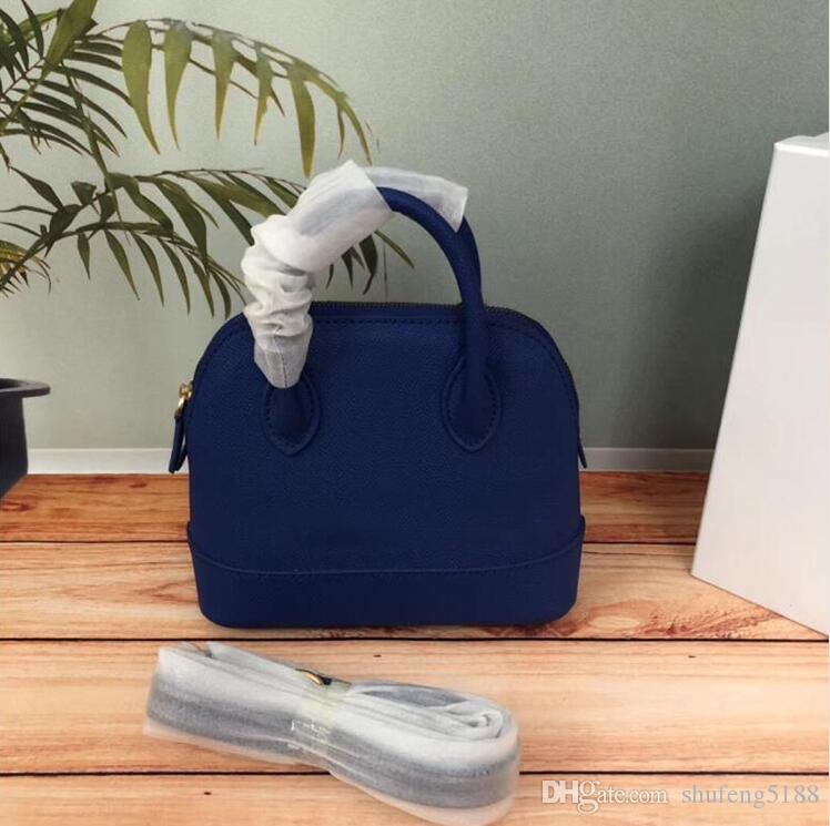 2020 Design De Mode Top Vente De Mode Mini Shell Femmes Sacs À Main Bandoulière Sac D'Épaule Fourre-Tout Sacs En Cuir Femmes Messenger Sacs 18 cm