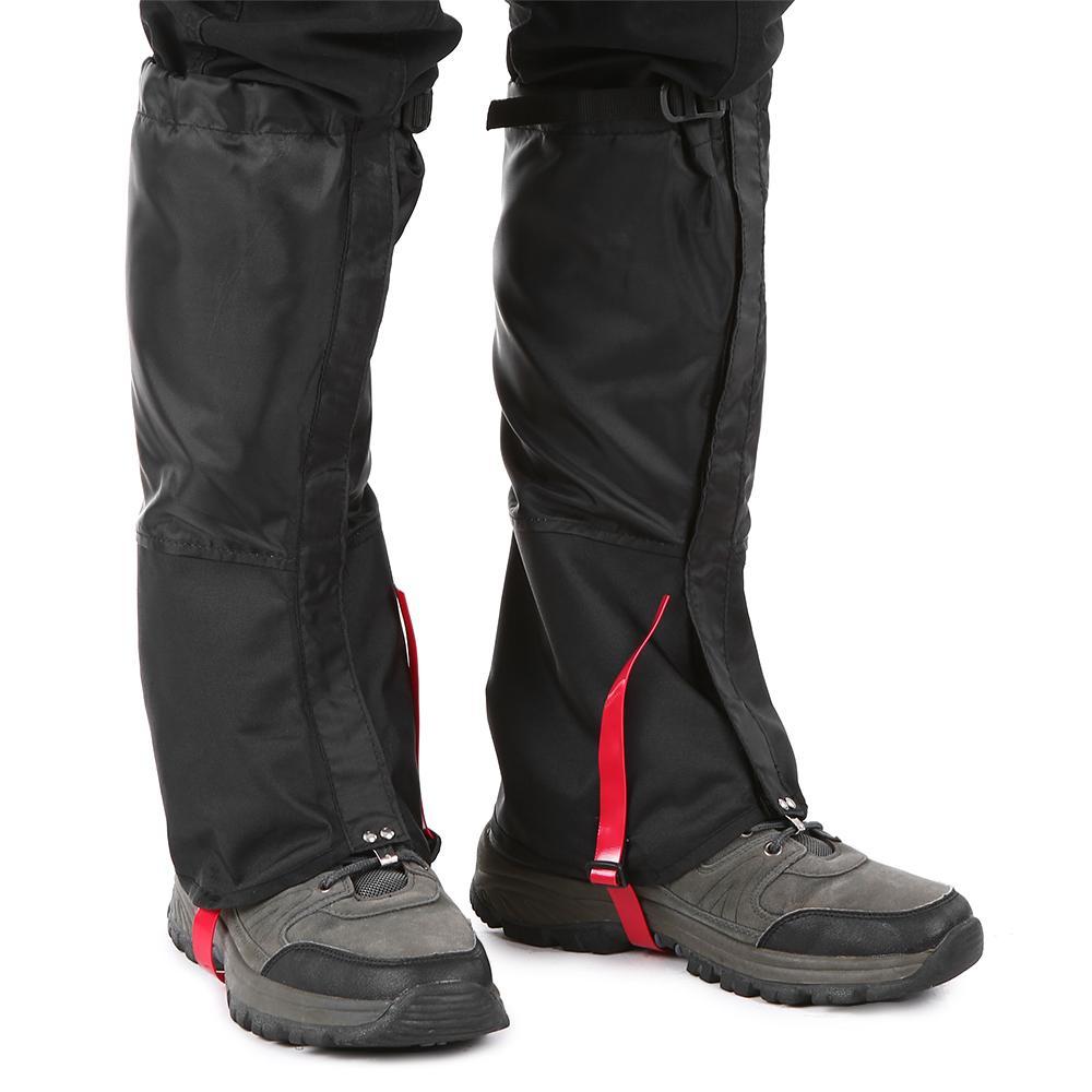 Waterproof Cycling Legwarmers Leg Cover Camping Hiking Snow Gaiters UK