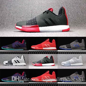 جيمس 3 Vol.3 هاردن الرجال لكرة السلة أحذية التدريب هاردن 3.0 بطولة نهائيات MVP مصمم الرياضة رجالي أحذية رياضية الحجم 40-46
