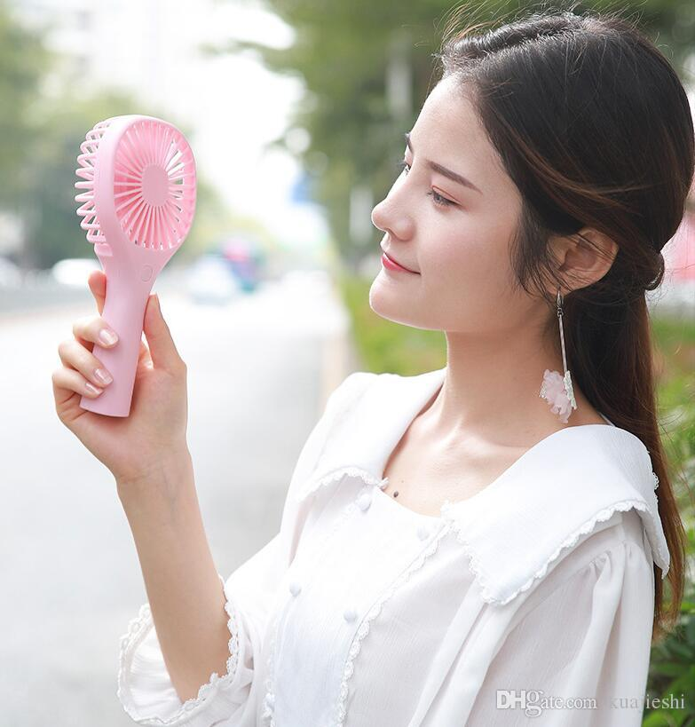 USB handheld mini fan is easy to charge