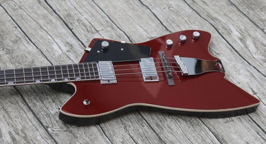 Promotion, personnalisé 4 cordes G6199B Billy Bo Jupiter Thunderbird Guitare électrique basse