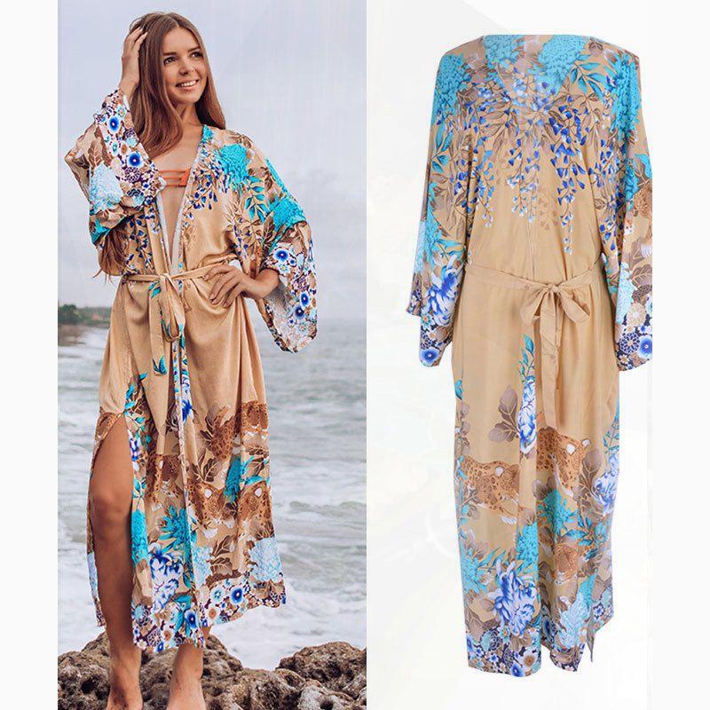 Couvertures remondues de plage pour femmes couvrent la maillot de bain femme UPS pareos de playa mujer robes la robe blanche