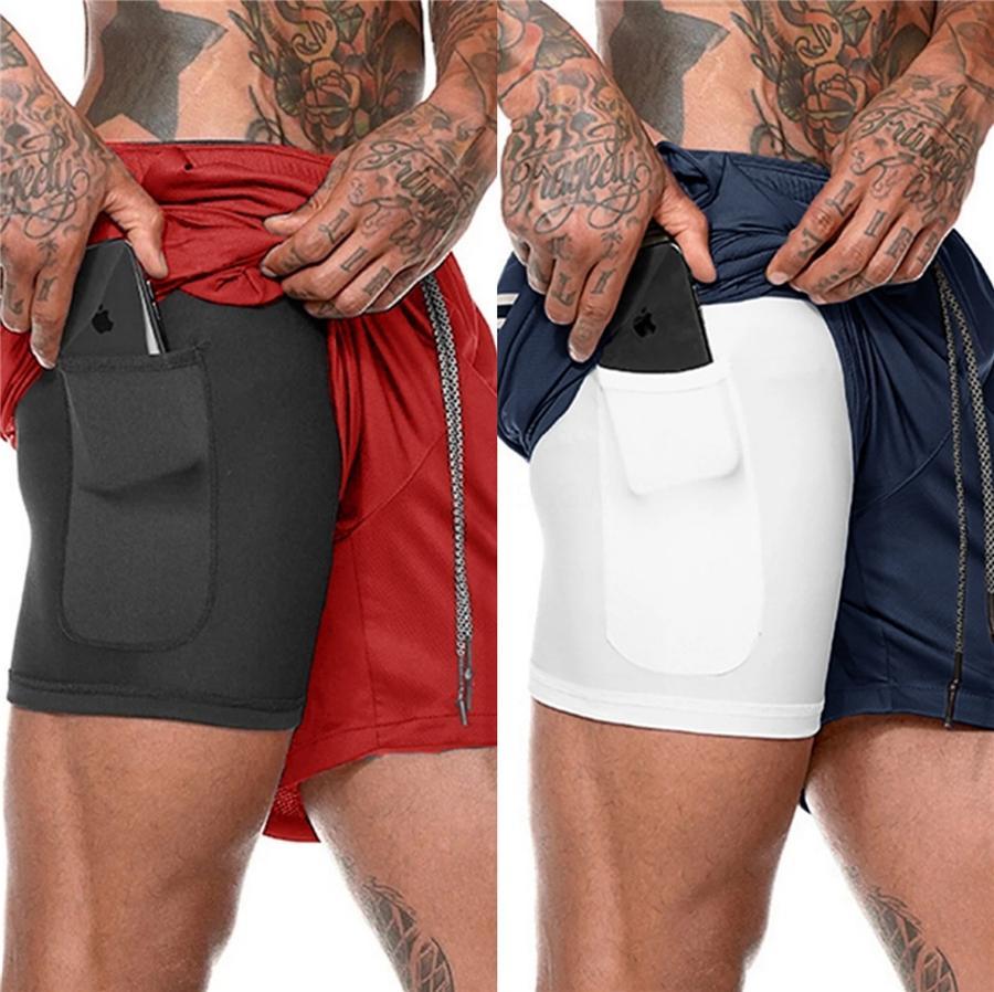 Prova respirável água acima Shorts comprimento do joelho Casual Verão Mens Beachwear dos homens de secagem rápida Besh Shorts # 293