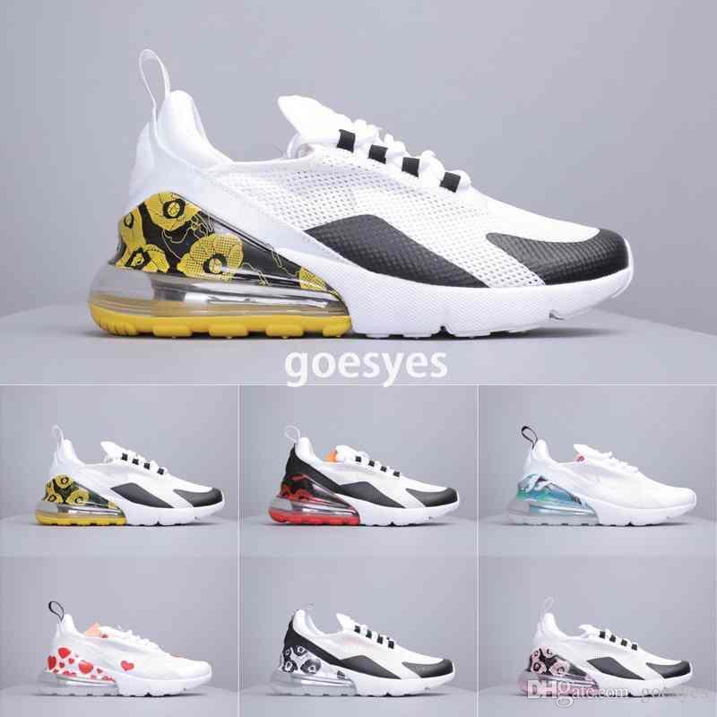 Mens New Arrivals 27c Almofada Tênis das mulheres Designer de Esporte Sapatos Casuais Tênis de Corrida Triplo Universidade Vermelho Oliva Flair 270s sapatos