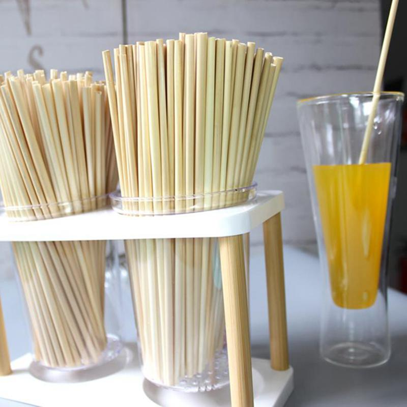 Wheat Drinking Straw 100% Biodegradable Drinking Straws Eco-friendly Portable Drinking Straw Kitchen Accessories for Bar Straws IIA81