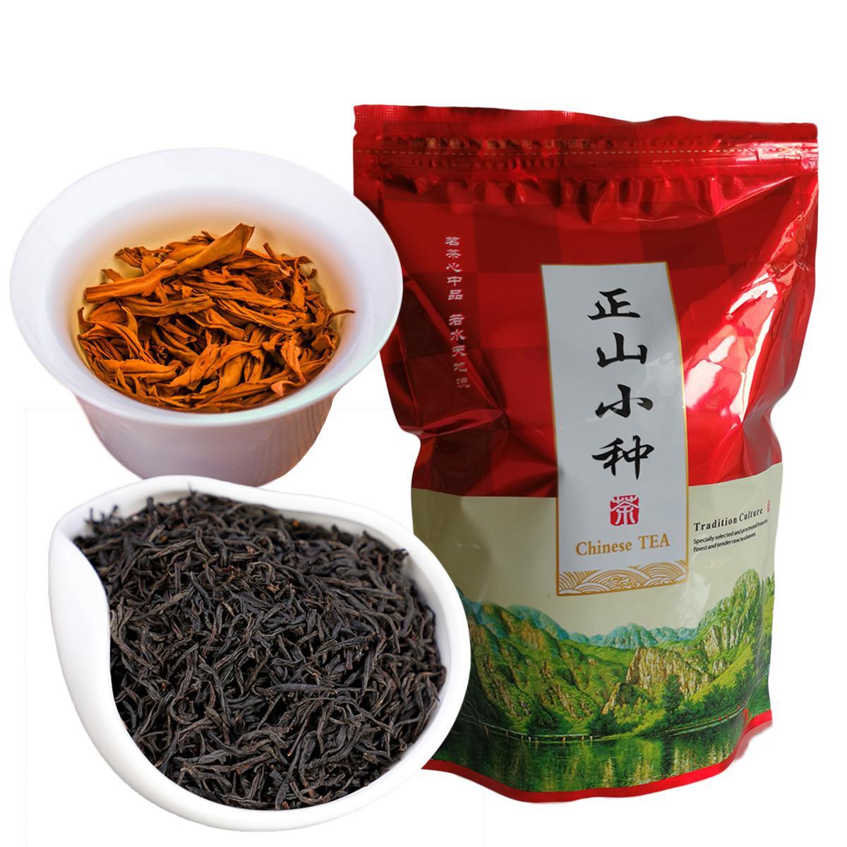 C-HC033 250g de chá premium New Lapsang Souchong Preto, Chinês Xiaozhong Tea For Perder peso Saúde Gongfu Tea Red