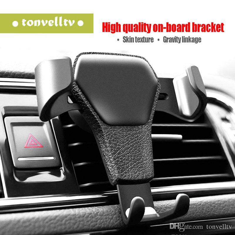 Téléphone de voiture universel Support grille d'aération Support pour téléphone En voiture Non Titulaire mobile Téléphone Stand magnétique avec paquet de détail