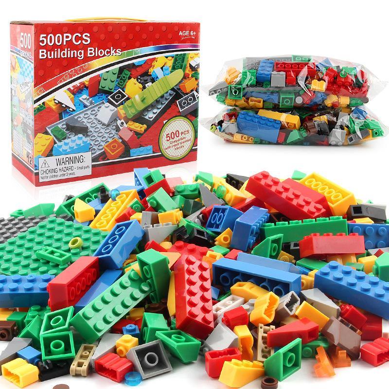 500pcs conjunto modelo DIY blocos de construção crianças brinquedos educativos brinquedos para crianças