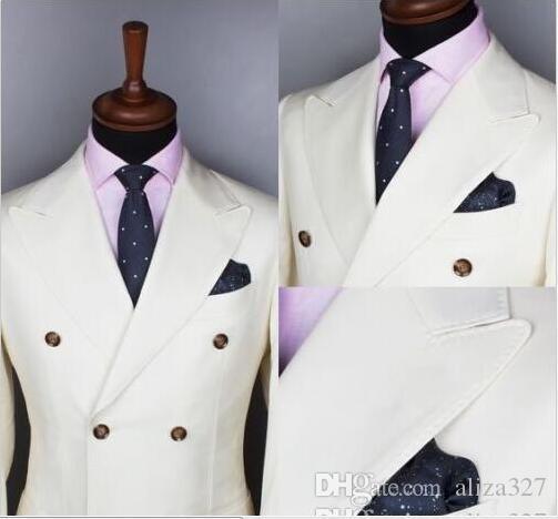 ternos elegantes para partido Abotoamento do casamento do noivo smoking Groomsman O melhor homem Novos Ternos smoking homens casamento
