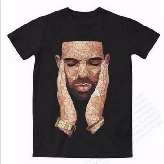 Date Design Womens / Mens Drake OVO Drôle Manches Courtes 3D Imprimer T-shirt D'été Style Casual T-shirt Livraison Gratuite