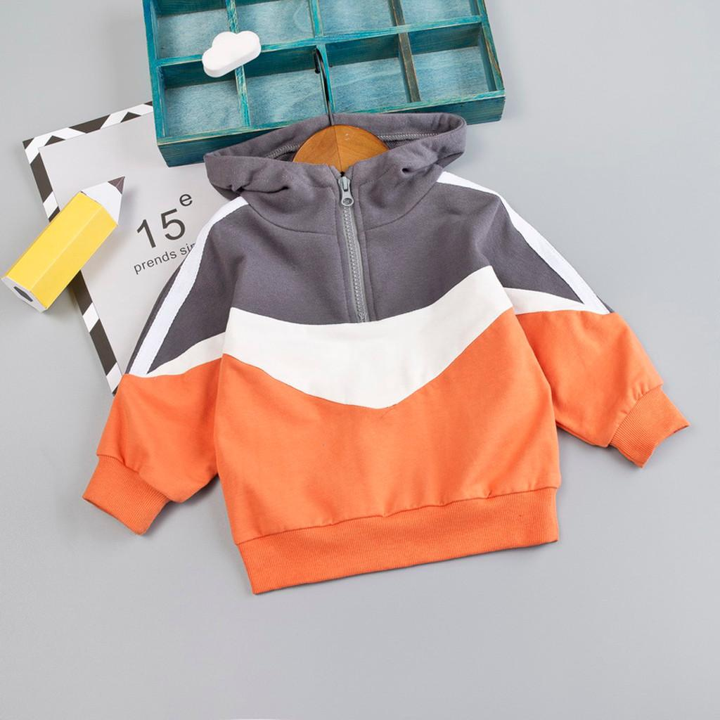 Toddler Baby Kids Boys Letter Print Pullover Sweatshirt T-shirt Tops Clothes