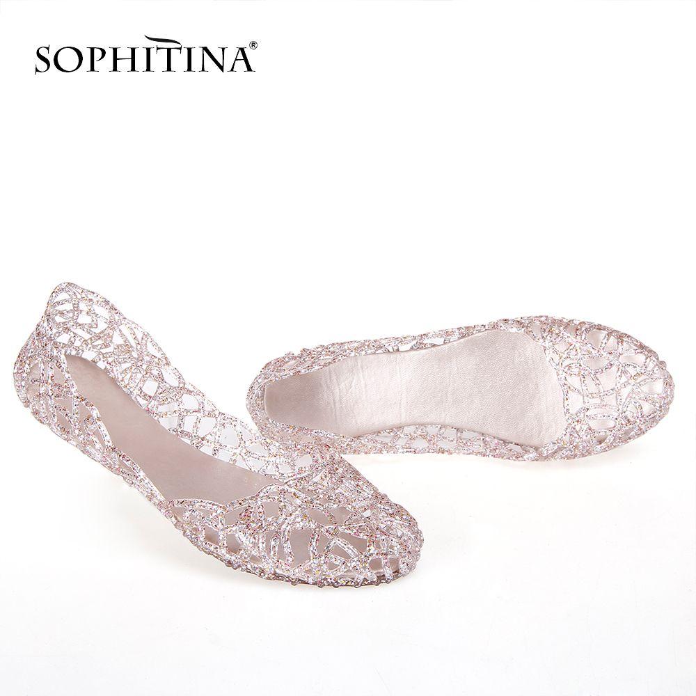 SOPHITINA Couleurs spéciales Confortable New Chaussons SO300 Chaussures de Toe souple ronde Femmes MX200425