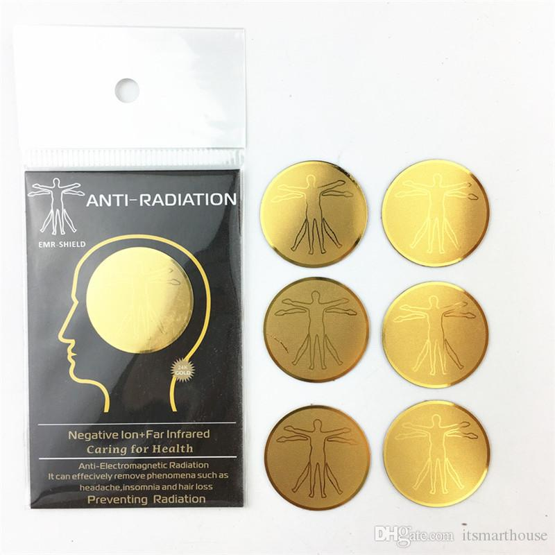 Anti Radiation Protection Autocollant Ions négatifs EMF pour les téléphones mobiles portables de haute qualité Accessoires de téléphone cellulaire