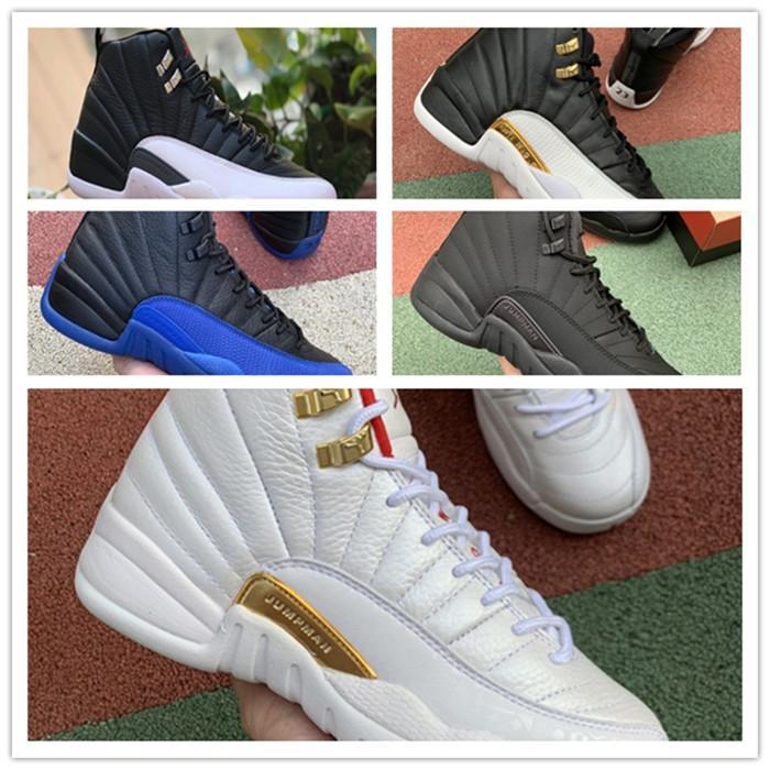 Nike Air Max Retro Jordan Shoes 12s Vinterize WNTR Gym Kırmızı Jordán NakeskinÜrdünRetro Erkek Basketbol Usta Gribi Oyunu Taksi 12 erkek spor ayakkabısı ayakkabı Ayakkabı