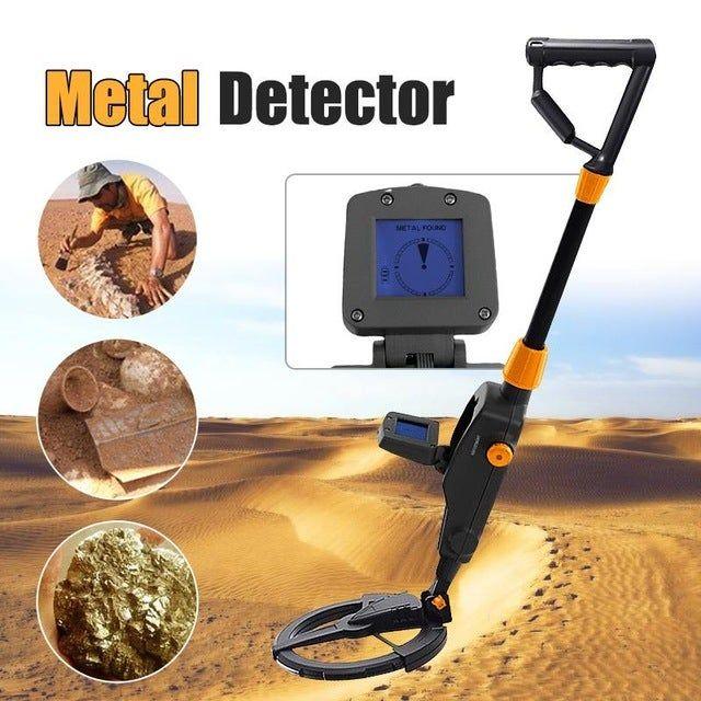 MD-1008A souterrain Détecteur de métaux Plage Outil de recherche sous sol d'or Treasuer Digger LCD Diaplay Gold Coin Finder Digger Hunter Detect