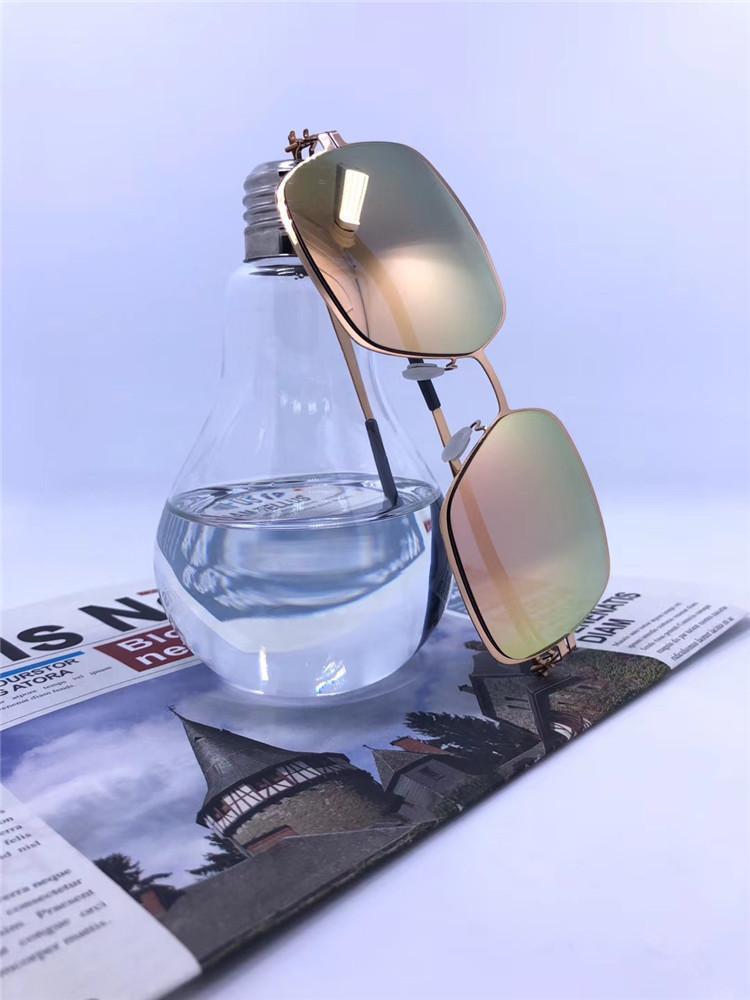 Retro Mykita Miguitar Männer und Frauen T190501 Sonnenbrillen IC Schraubenlose Flut Neue Sonnenbrille Ultraleichter Rahmen ohne Schrauben Top Qualität KGEFR