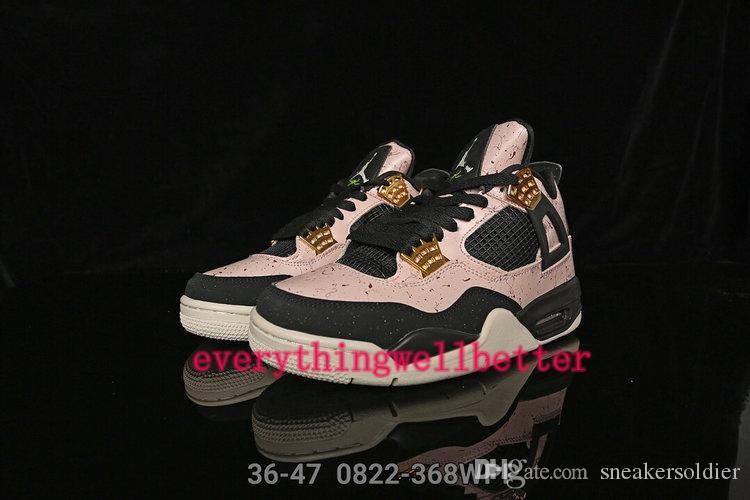 nike  jordan aj 4 WNTR Leal azul 4S White Cement IV Cactus Jack Cool Gray Los hombres de los zapatos de baloncesto de las mujeres de la seta Diseño zapatillas de deporte jor