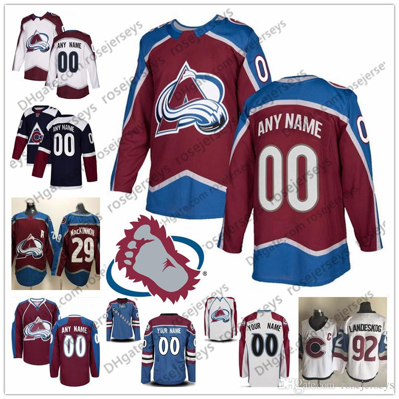 2020 Custom Colorado Avalanche Jersey