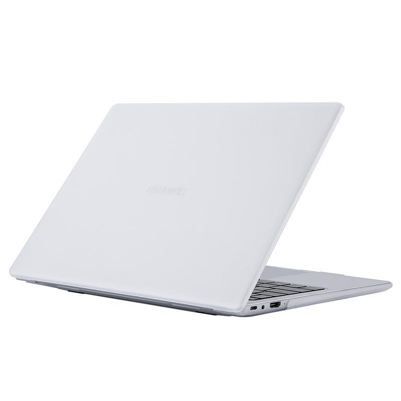 Huawei Matebook D14 D15 맑은 투명 무광택 하드 쉘 커버 14 15 케이스