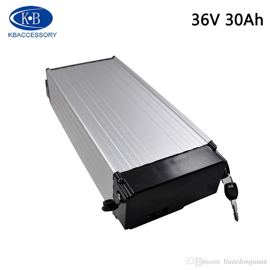 EU-Duty-Free-36 36V 30Ah Volt Lithium-Batterie für Elektrofahrräder mit 18650 3000mAh Zelle + 30A 2A BMS Charger Freies Verschiffen