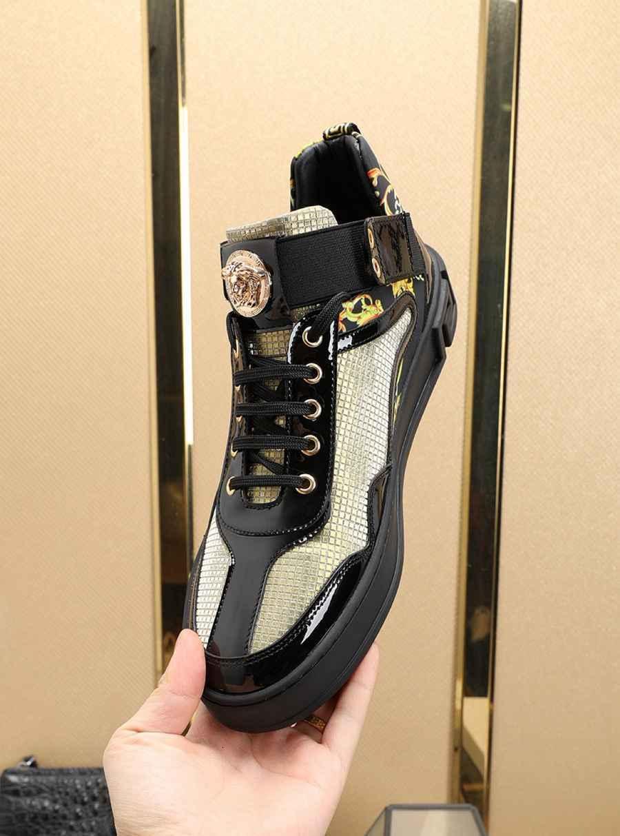casuale qualità degli uomini di alta 2020 shoes00191210 # 016 nuova