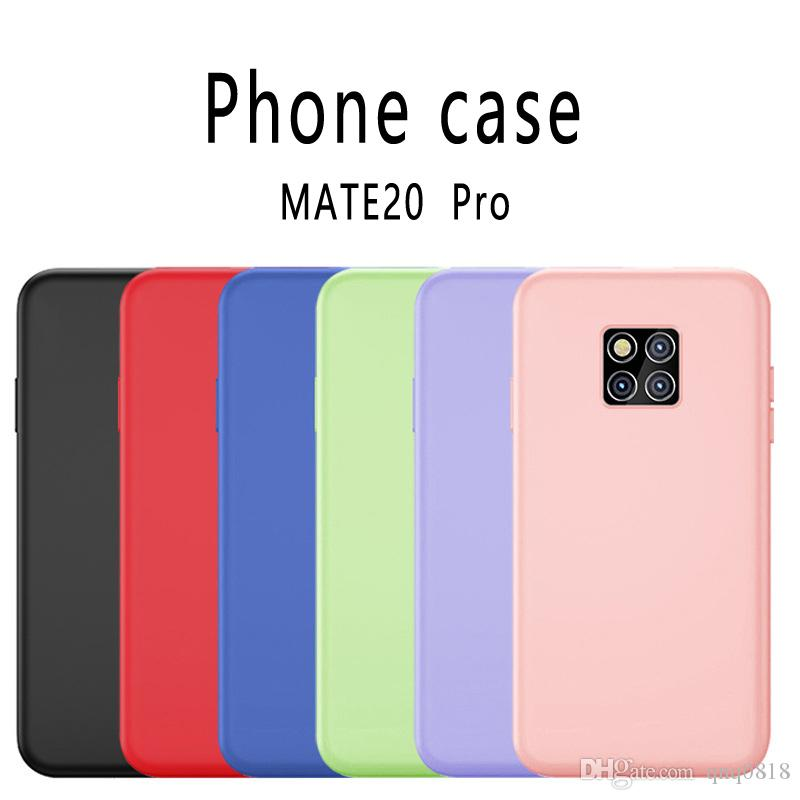 Designer Cell Phone Cases Silica gel Back cover Drop protection sleeve For Hua Wei Mate 20