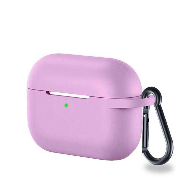 De silicona para Airpods Pro caso del protector de la caja auriculares anti-perdió con gancho para Airpods 3 2019 300pcs paquete del opp / lot