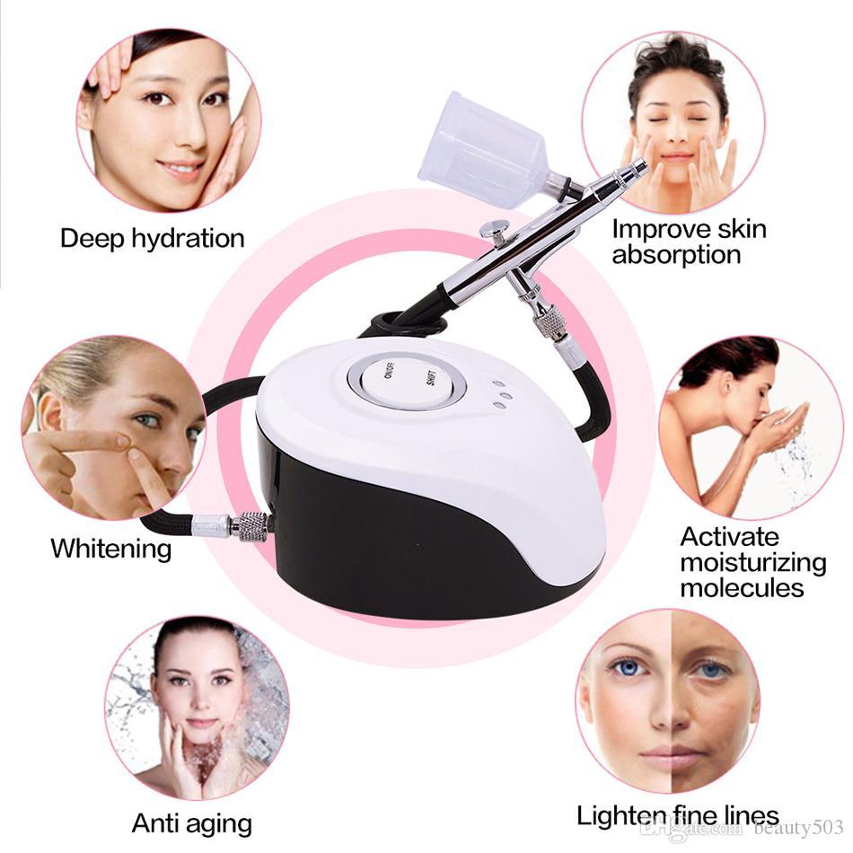الوجه SPA البخاخ آلة نانو مستر الوجه الباخرة رذاذ الماء على الوجه تجديد الجلد الأوكسجين حقن رذاذة صالون تجميل