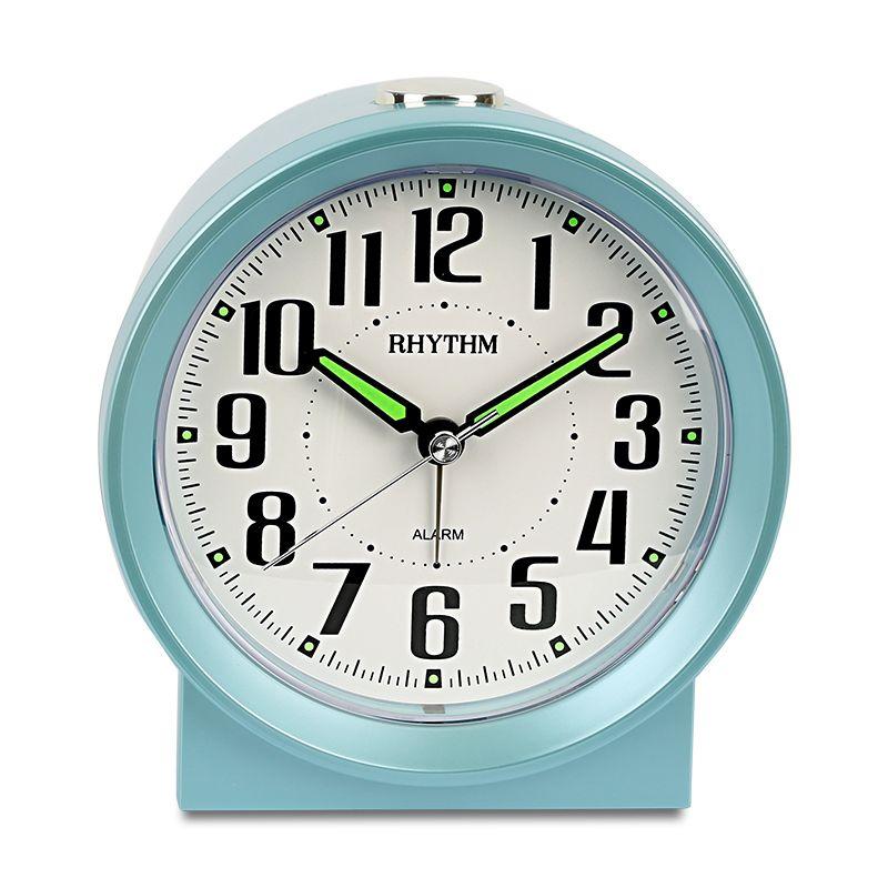 RITMO 4inch Silenzioso Alarm Clock Alarm LED notte luminosa per bambini Orologio con audio Funzione Snooze Tabella Desktop Accanto