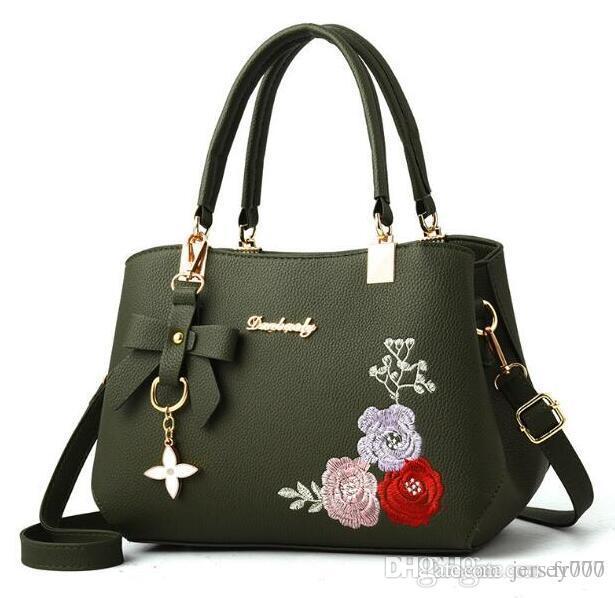 Women's Handbags Famous Fashion Brand Candy Shoulder Bags Ladies Totes Simple Trapeze Women Messenger Bag cheap wholesale USA Fashionab