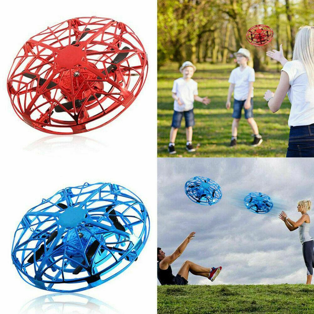 La alta calidad caliente Juguetes Mini UFO aviones no tripulados para niños helicóptero aviones no tripulados de infrarrojos de inducción de Aviación Quadcopter Actualizado