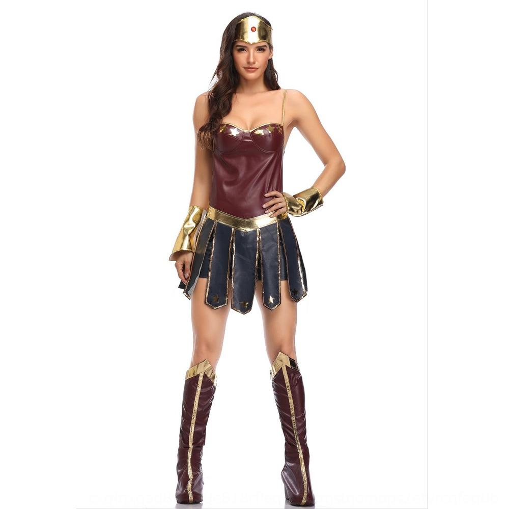 Women's League Wonder women's Legends uniform Woman costume role play cosplay Halloween of halloween gladiator uniform BHkAs