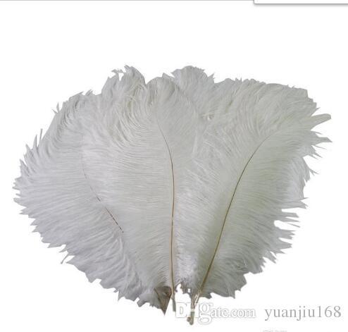 Красочные 10-12 дюймов (25-30 см) перья страуса пера для свадьбы центральной свадьбы декор события праздничного украшения GB834