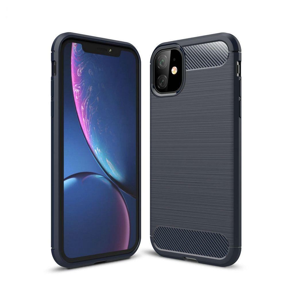 Cas en fibre de carbone pour l'iPhone 11 Pro X Xr X Max 6 7 8 6S Plus 5 SE 2020 Téléphone 5S Pour Samsung S20 Ultra S10 S10e S9 plus S8 Note 10 9 8