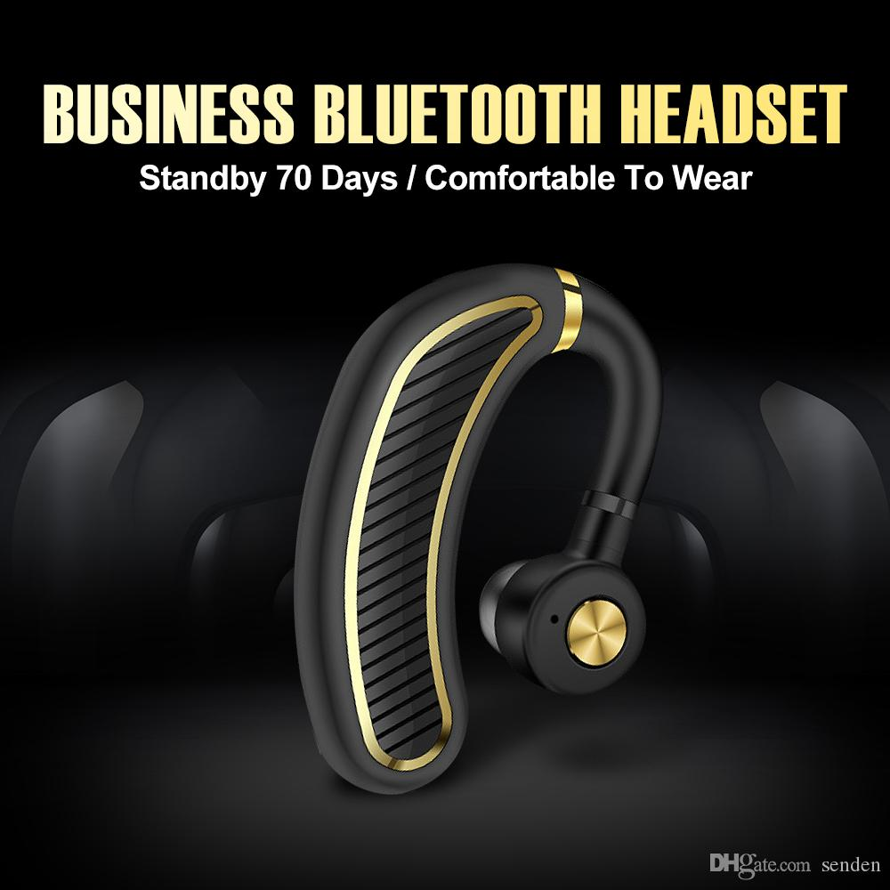 Sports K21 Bluetooth Earphone 24 Hours Work Time Business Wireless Bluetooth Headset Earhook Earphones With Mic For Driver Officer Headphone Gaming Headphones Headphone Amplifier From Senden 8 55 Dhgate Com